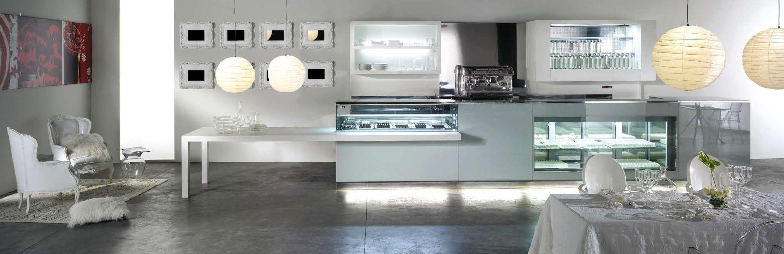 Bancone bar free vista for Arredamento moderno bar