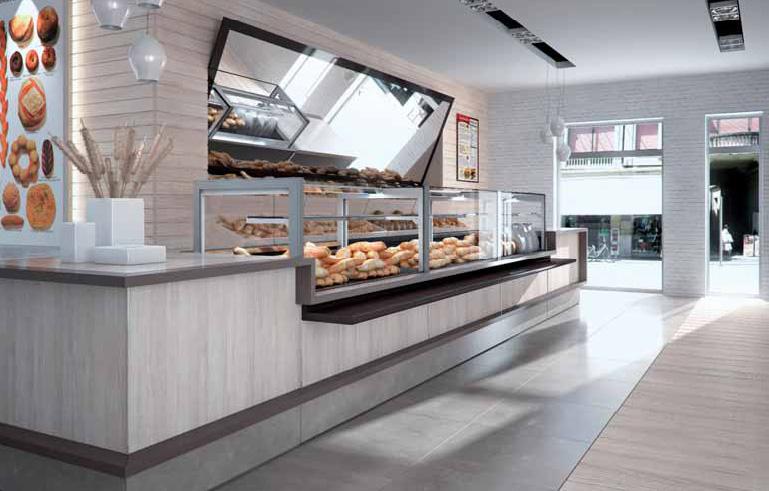 Arredamento panificio arredo panetteria for Arredamento per fast food