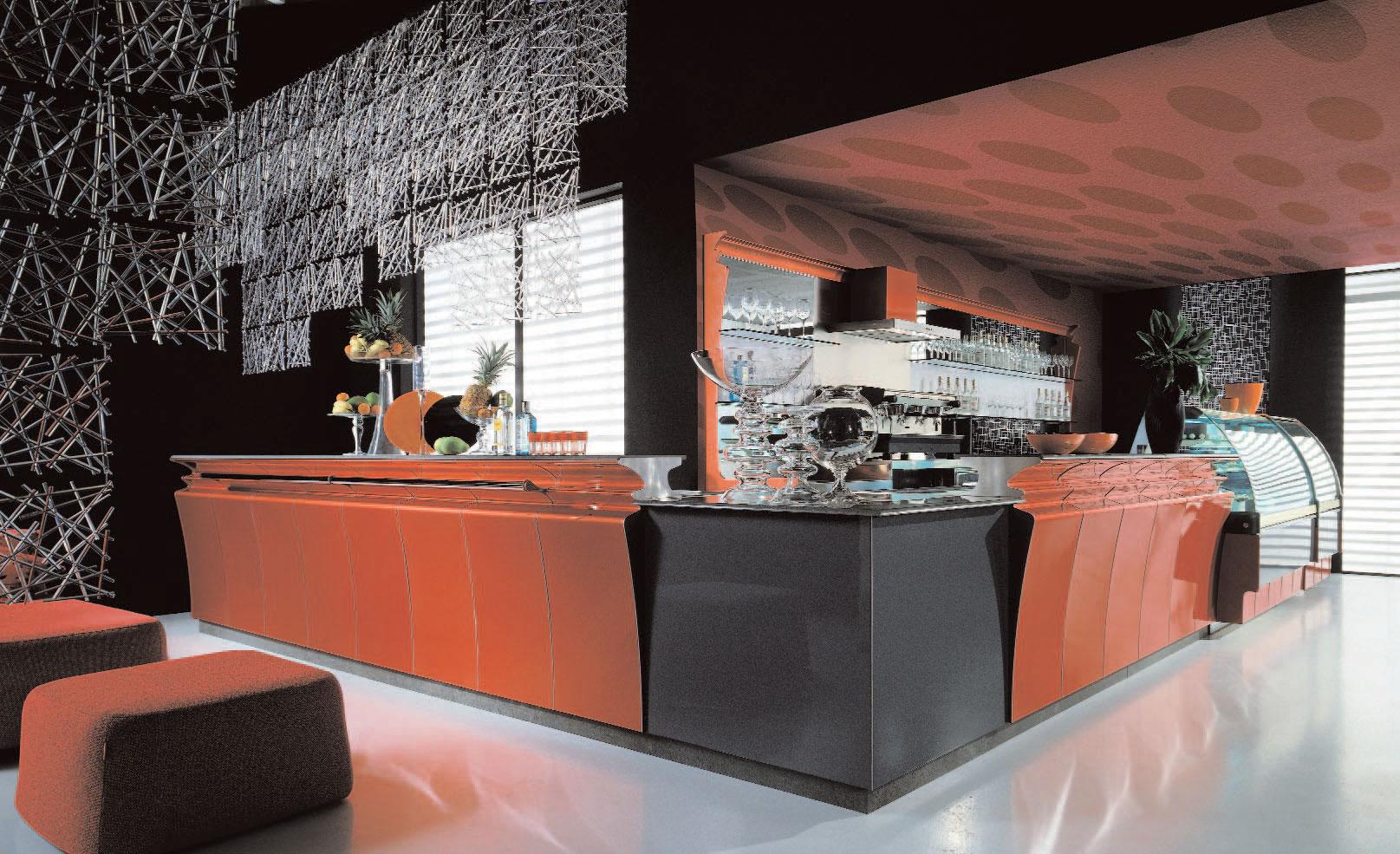 Famoso Progetto banco bar angolare GV48