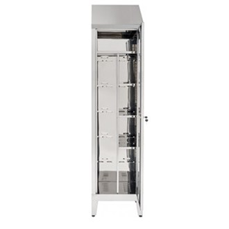 Armadio porta scope inox AISI 304