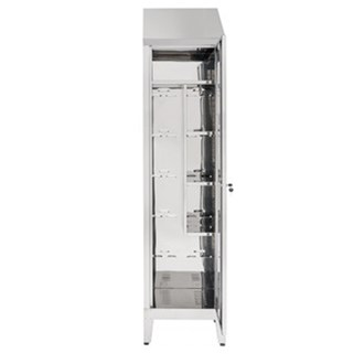 Armadio porta scope tiracqua inox AISI 304
