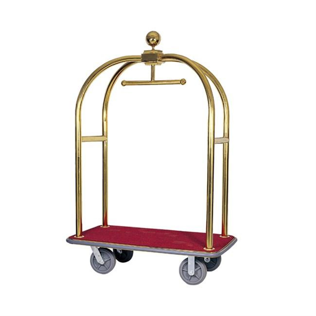 Carrello portavaligie appendiabiti per albergo - Portabiti con ruote ...