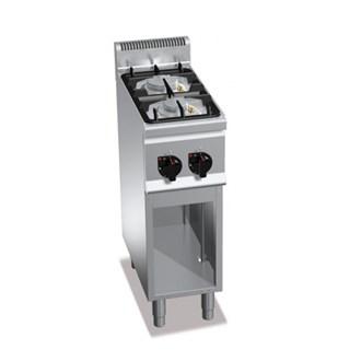 Cucina a gas 2 fuochi su mobile 9 5kw - Manutenzione cucina a gas ...