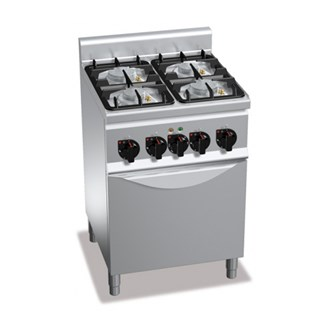 Cucina a gas 4 fuochi su forno - Manutenzione cucina a gas ...