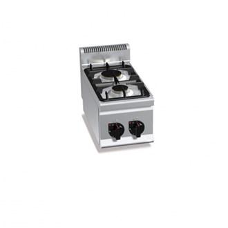 Cucine industriali a gas e elettriche cottura professionale per ristoranti - Cucina a gas due fuochi ...