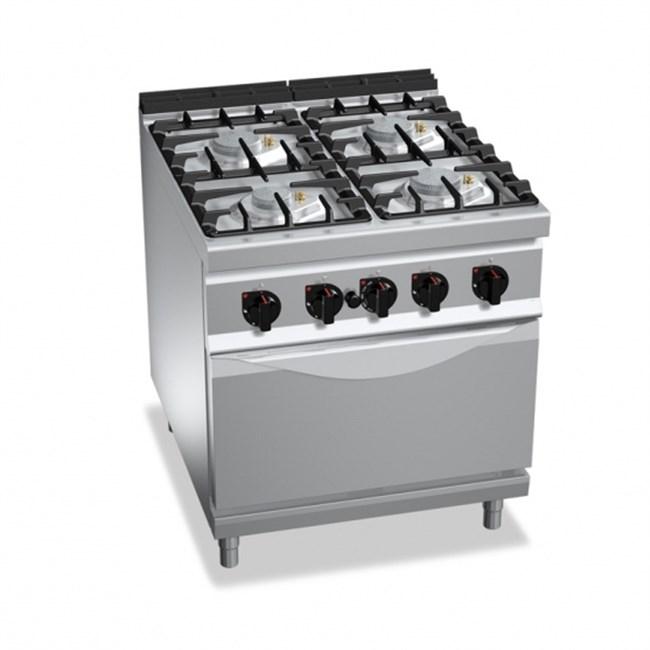Cucina professionale con forno a gas - Whirlpool cucine a gas con forno ...