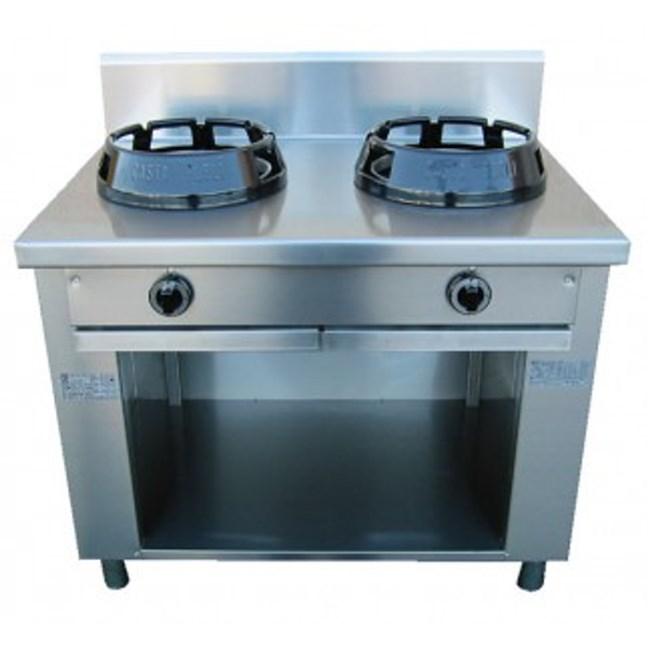 Cucina wok due fuochi a gas - Cucina a gas due fuochi ...