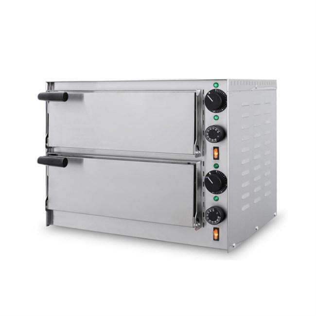 Forno elettrico da appoggio per pizzeria 2 camere - Forno elettrico per pizze ...