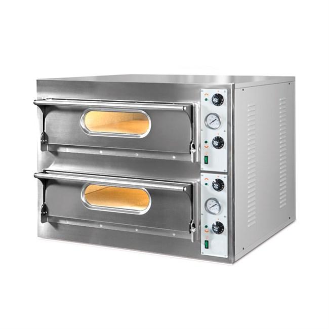 Forno per pizzeria elettrico 2 camere di cottura - Forno per pizza elettrico ...