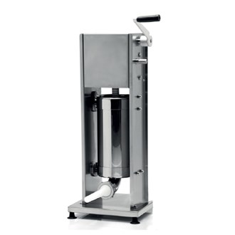 Insaccatrice professionale manuale inox verticale 14 lt
