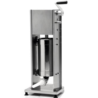 Insaccatrice professionale manuale inox verticale 7 lt