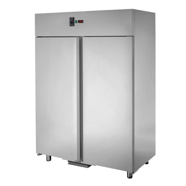 Armadio Refrigerato in Acciaio inox 0/+10°C 1400 due porte ...