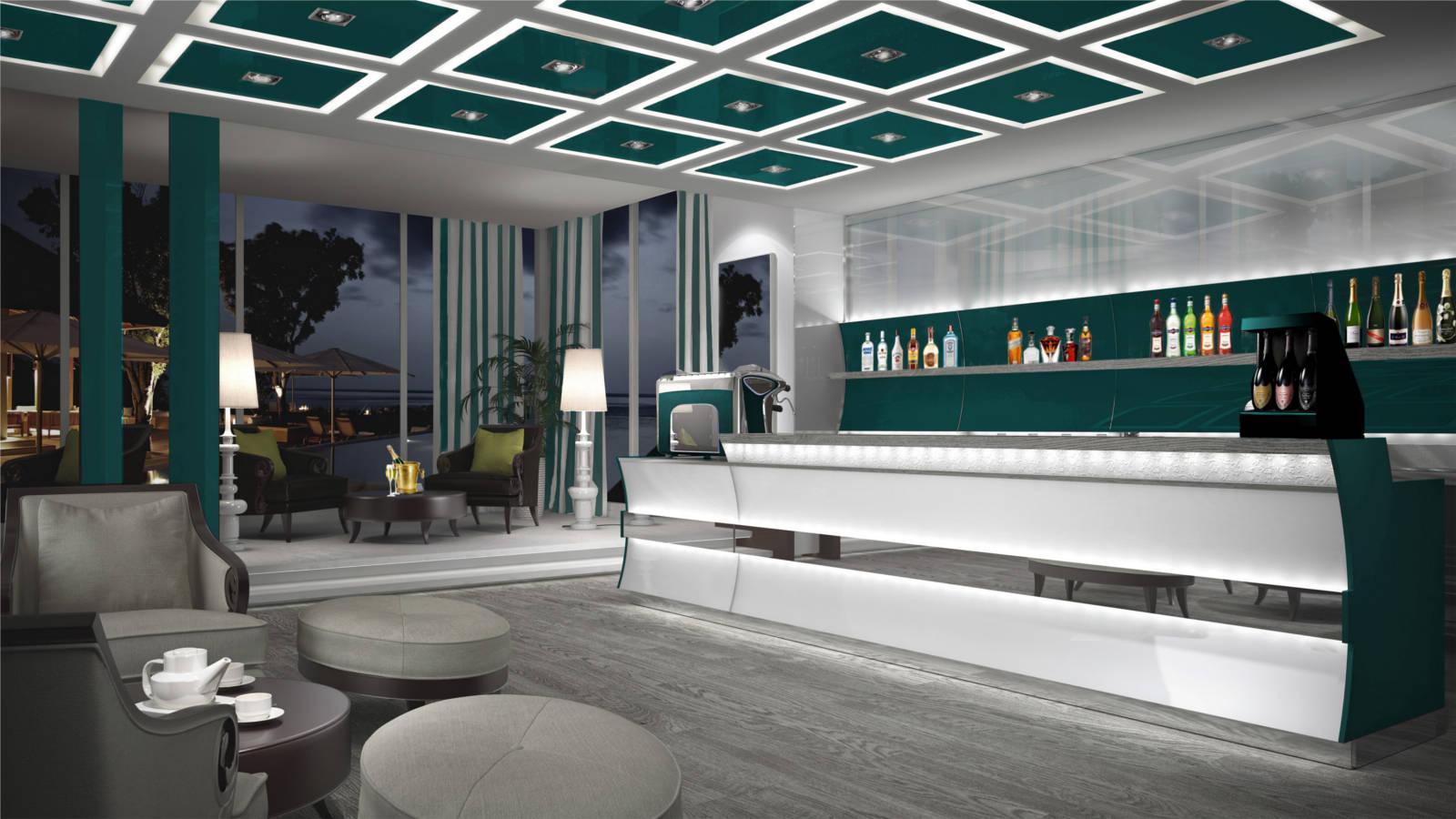 Arredamento bar di lusso for Arredamento di design tedesco
