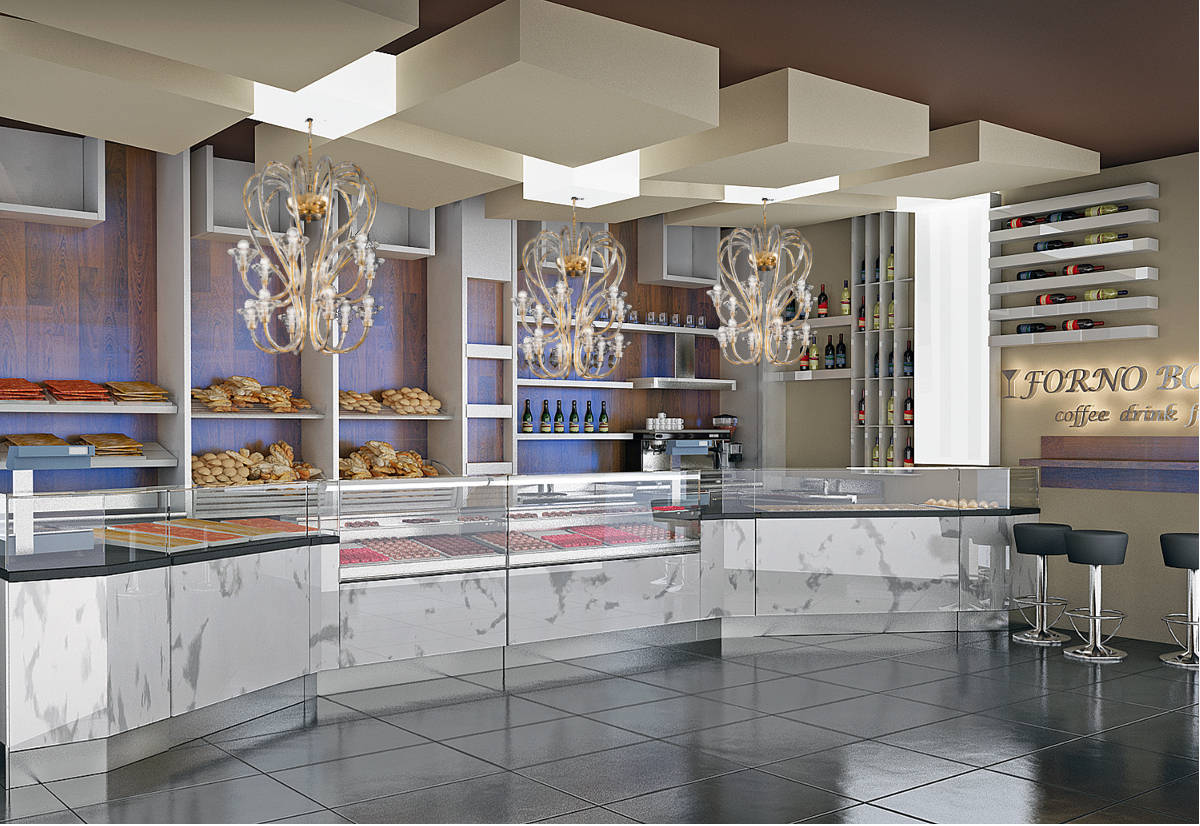 Pin bar gelateria roma arredamento pasticcerie design wine for Arredamento design roma