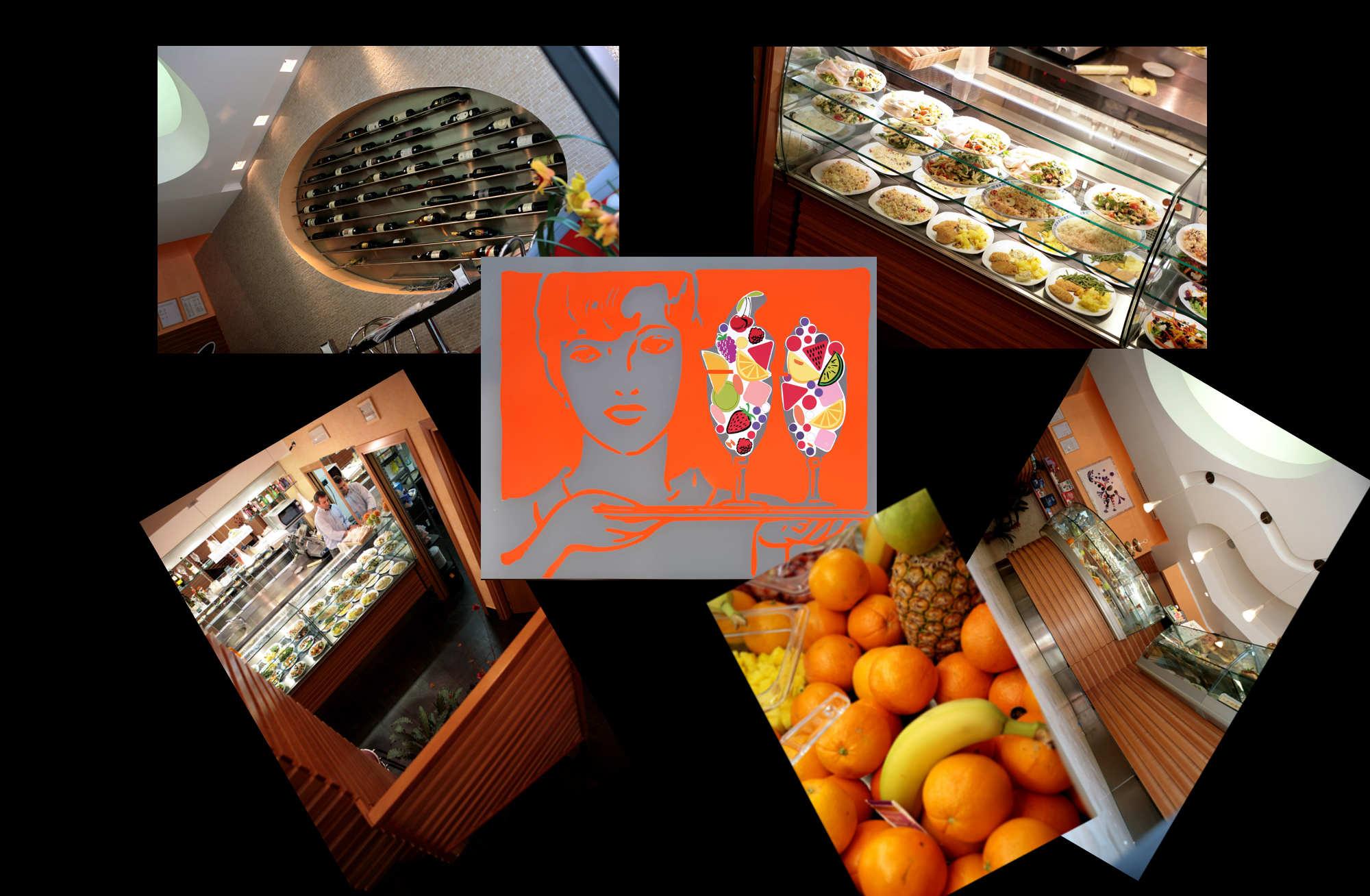 Arredamento tavola calda e fredda fruit bar roma for Arredamento bar roma