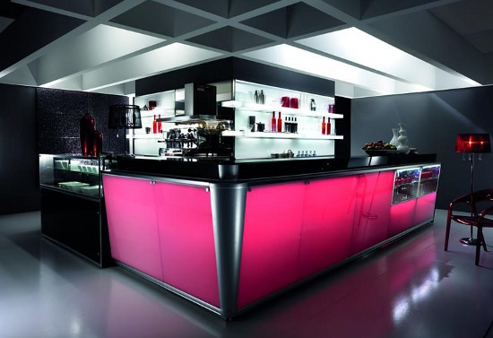 arredamento bar luminoso