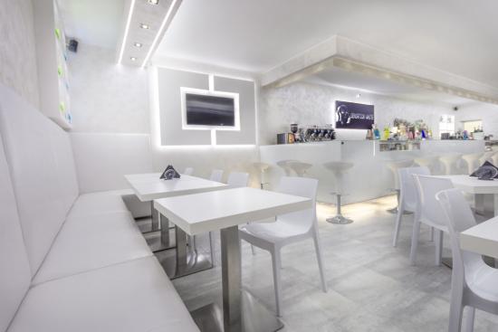 Arredamento Bar Bianco.Arredamento Bar Sensation White