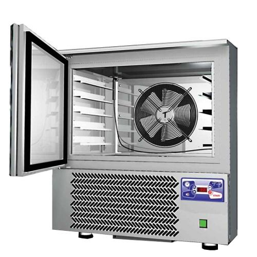 Abbattitore temperatura surgelatore 5 teglie for Temperatura abbattitore