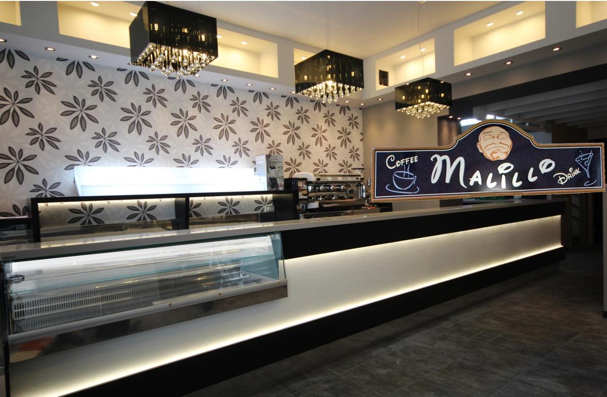 Illuminazione bancone bar jd05 regardsdefemmes for Negozi arredamento usato milano