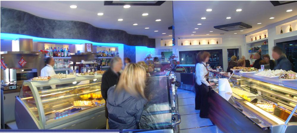 Arredamento bar gelateria ostia roma for Arredamento bar roma
