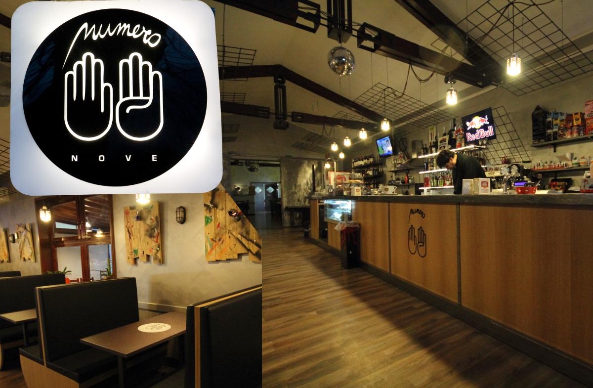 Arredamento bar legno e acciaio for Arredamento per bar ristorante