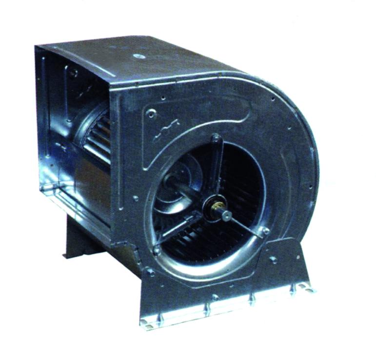Ventilatore centrifugo a trasmissione for Motore cappa aspirante