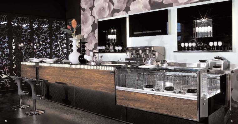 Arredo bar roma for Arredamento per bar ristorante