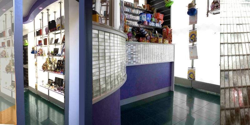 Arredamento negozi viterbo for Arredo tabaccheria