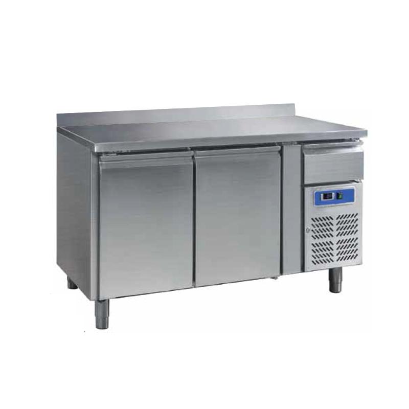 Tavolo refrigerato 2 porte con cassetto