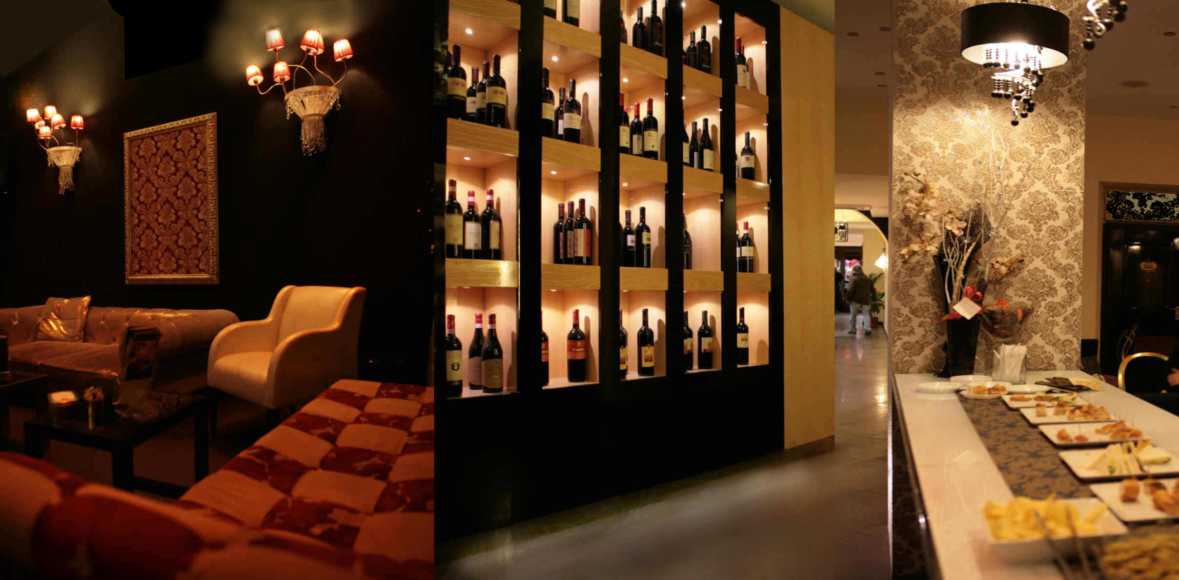 Arredamento wine bar roma for Arredamento in roma